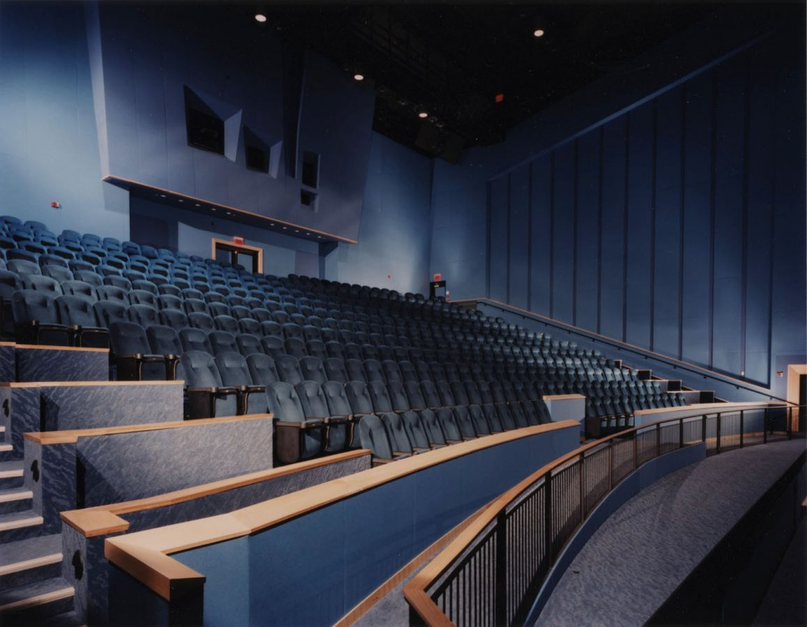 IMAX room seating shot