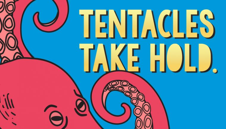 Tentacles Take Hold logo cover