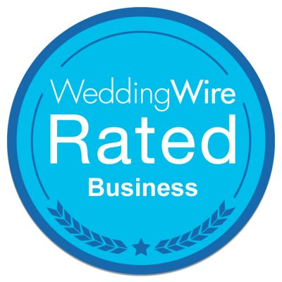 Wedding Wire Rated Business badge