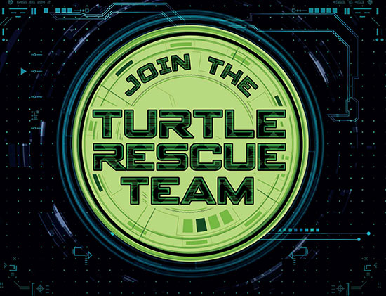 Turtle Rescue Team ad