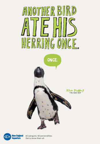 80 Penguins Ad