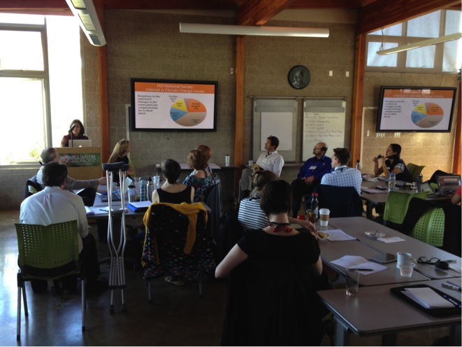 educators learn about visualizing change program