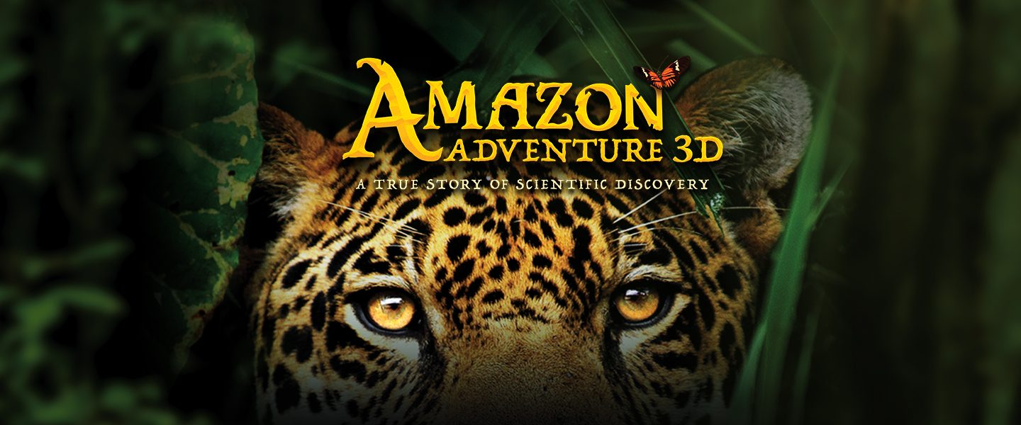 film artwork for Amazon Adventure 3D