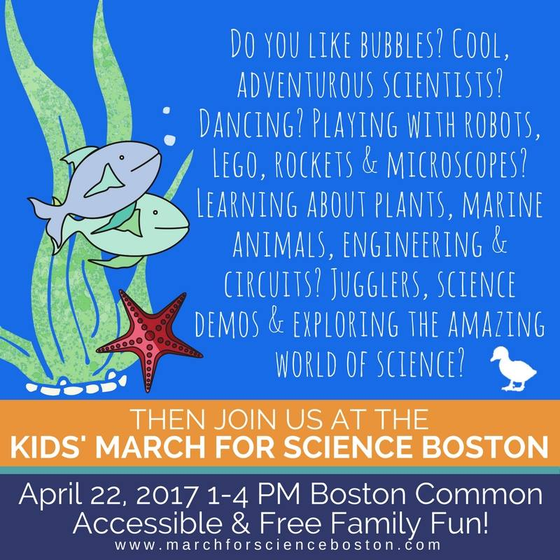 graphic for the March for Science