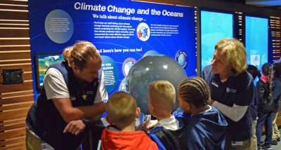 kids learning about climate change