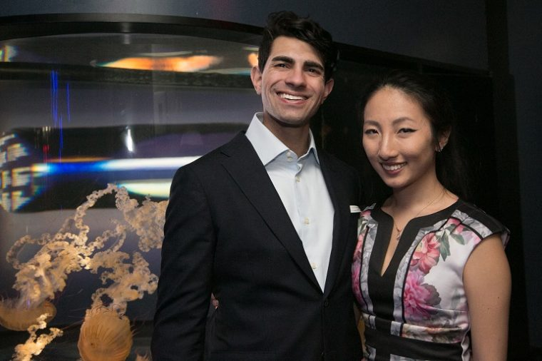 couple at That's A-Moray event 2018