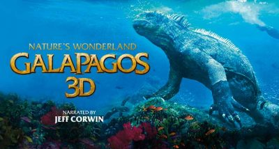 Galapagos 3D film artwork