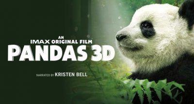 Pandas 3D film artwork