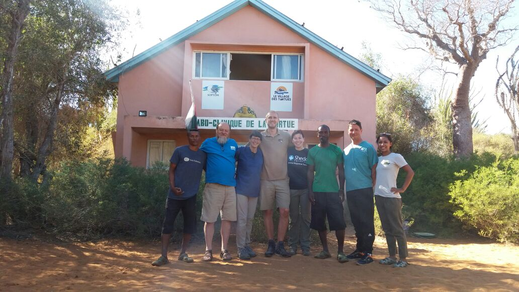 group of rescuers in Madagascar