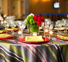 New England Aquarium's exclusive in-house caterer provides world-class food, all prepared by our executive chef and staff