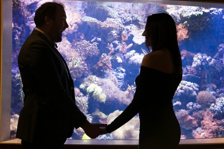 couple at That's A-Moray event 2018 in front of GOT