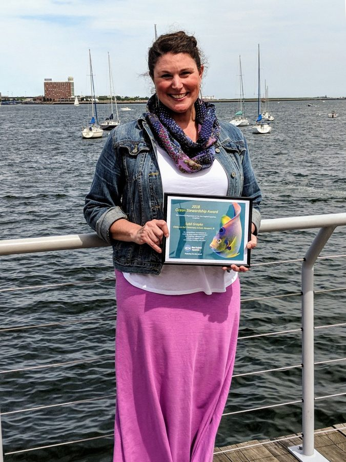 ocean stewardship award winner