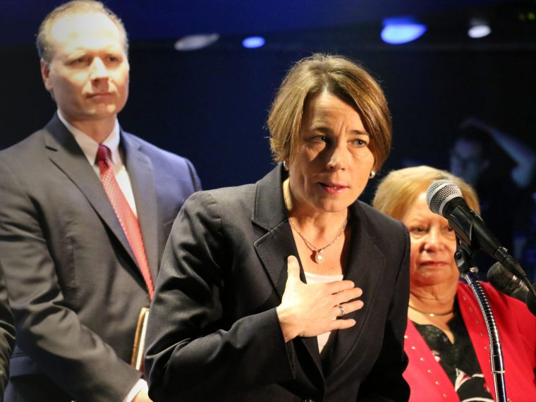 attorney general Maura healey at top of GOT