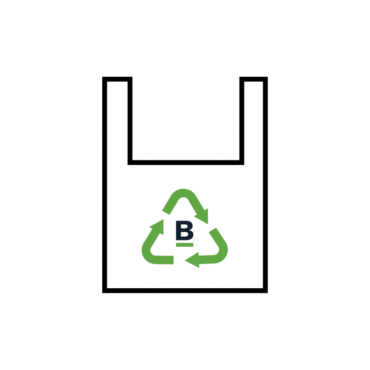 Boston's bag ban logo