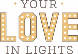 your love in lights logo