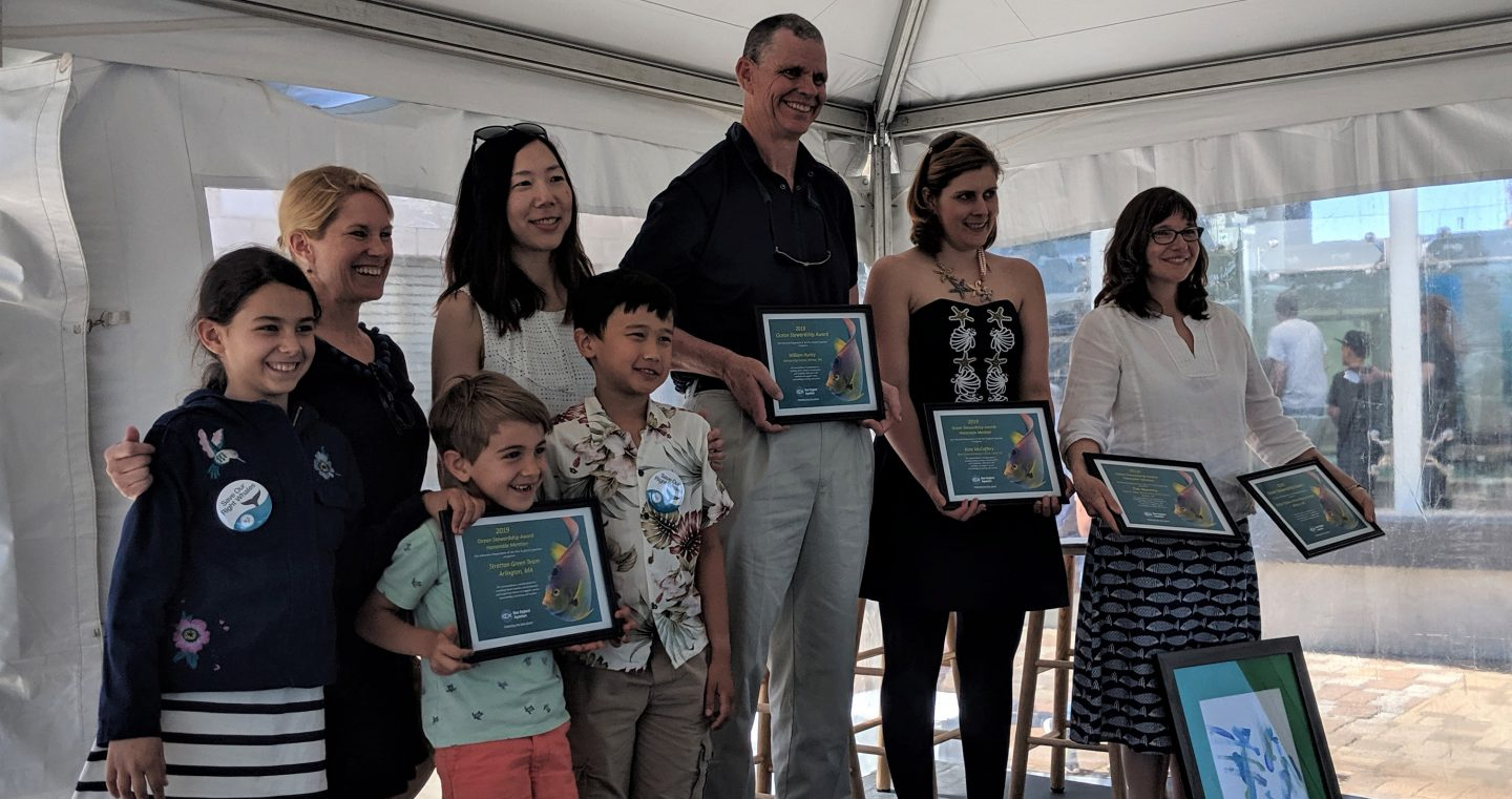 winners of 2019 Ocean Stewardship Awards