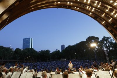Boston Symphony Orchestra performs at Hatch Shell