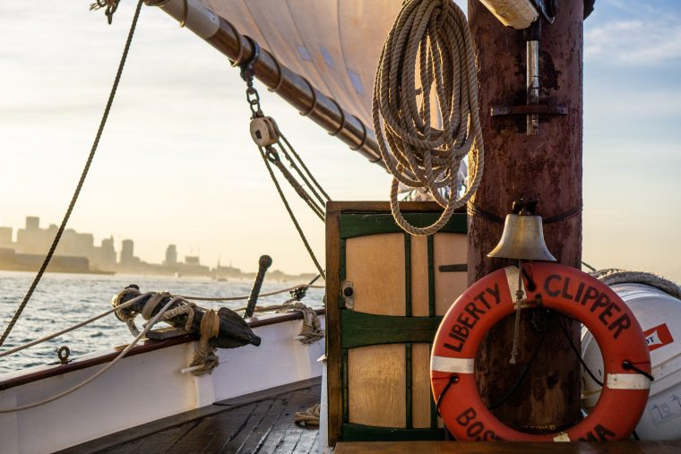 aboard the Liberty Clipper during Cruise with The Tide 2019