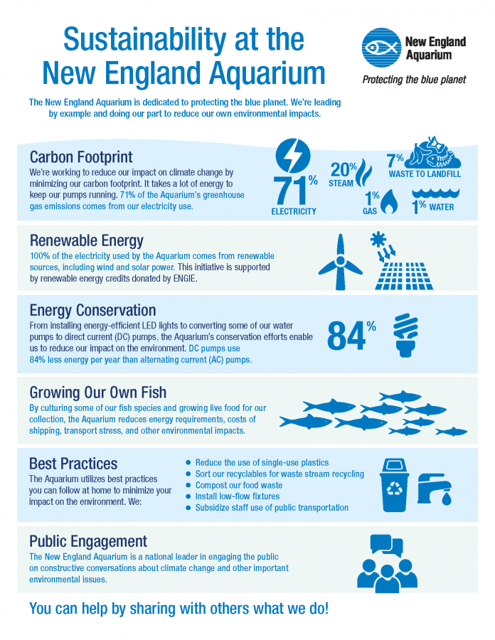 sustainability at new england aquarium