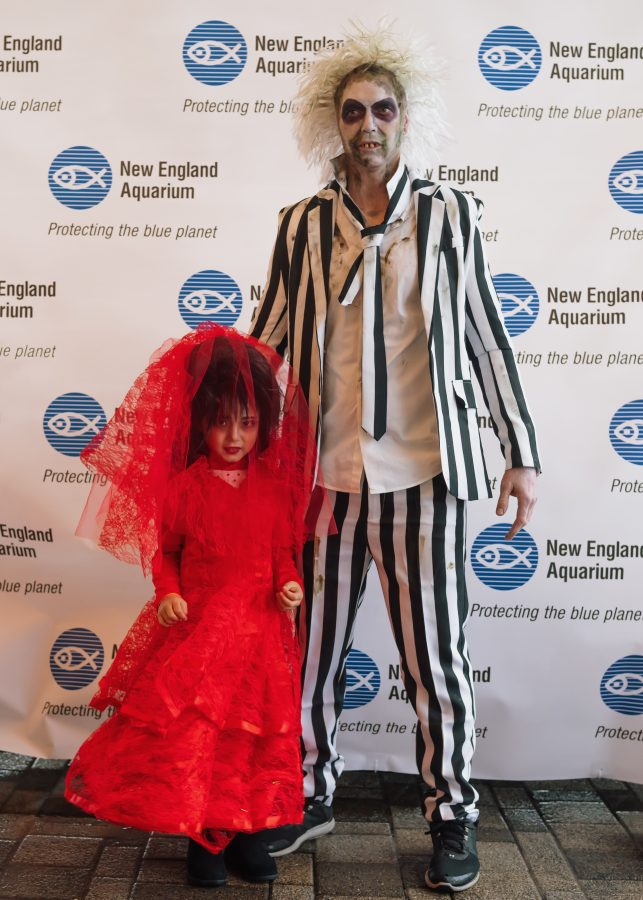 Best Overall Costume – Beetlejuice and Lydia