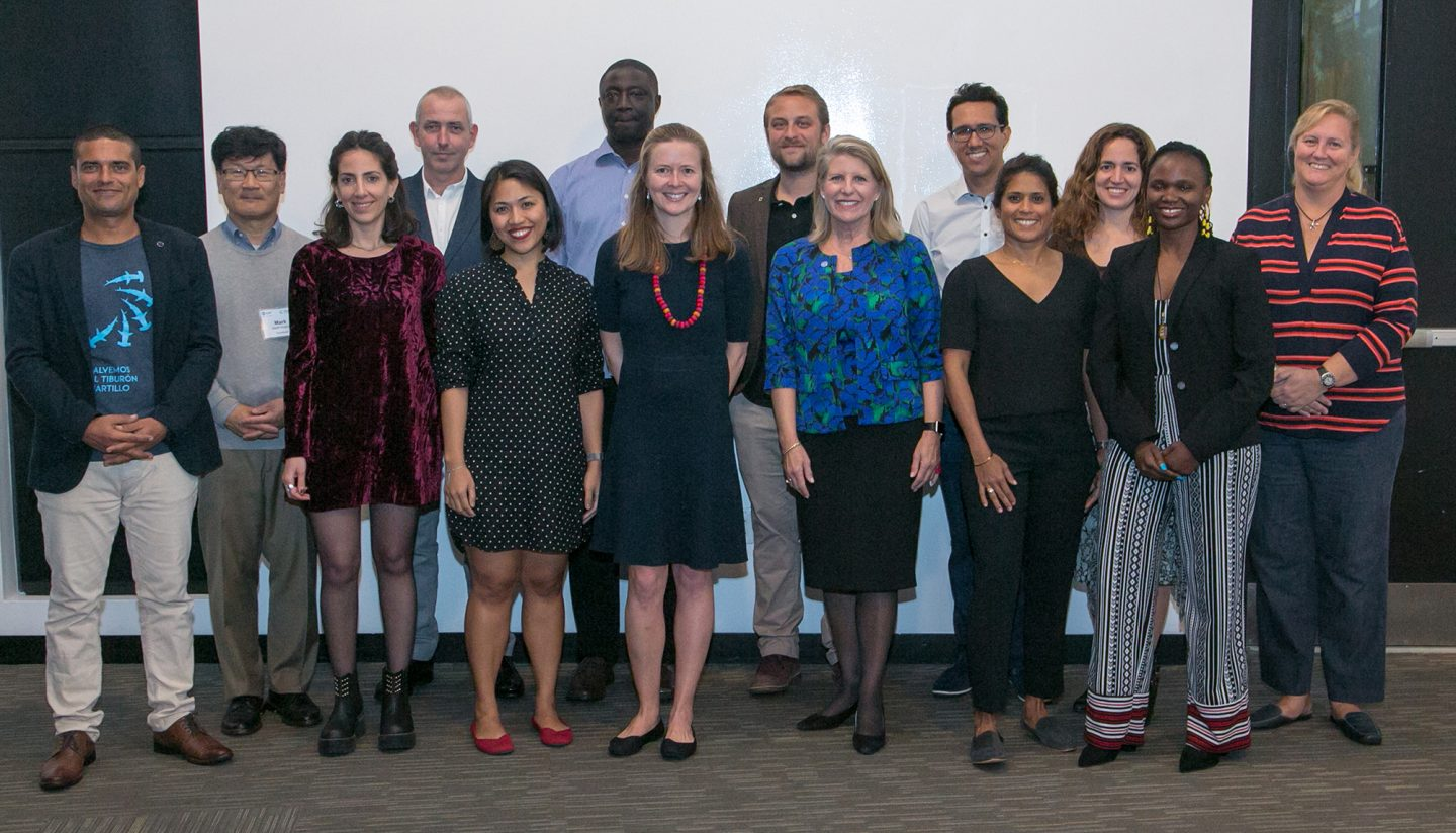 MCAF Fellows at summit in 2019