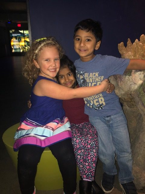 kids at the Member Appreciation Event in November 2019