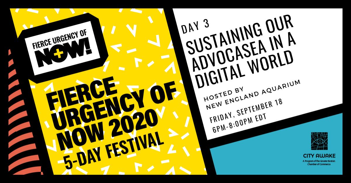 Fierce Urgency of Now 2020 Event Listing